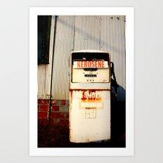 Kerosene Art Print