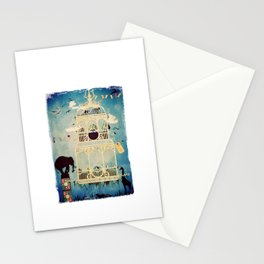The Cage III - Call of the Wild Stationery Cards