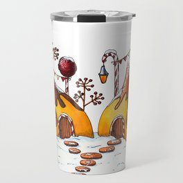 Winter In Candy Land - Pears Travel Mug