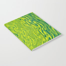 Ripples Fractal in Greens Notebook