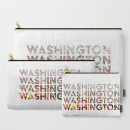 Washington - Gum Wall Carry-All Pouch