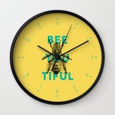 Bee-you-tiful Wall Clock