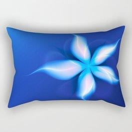 La Fleur Magique de la Sorcière Fractal Rectangular Pillow