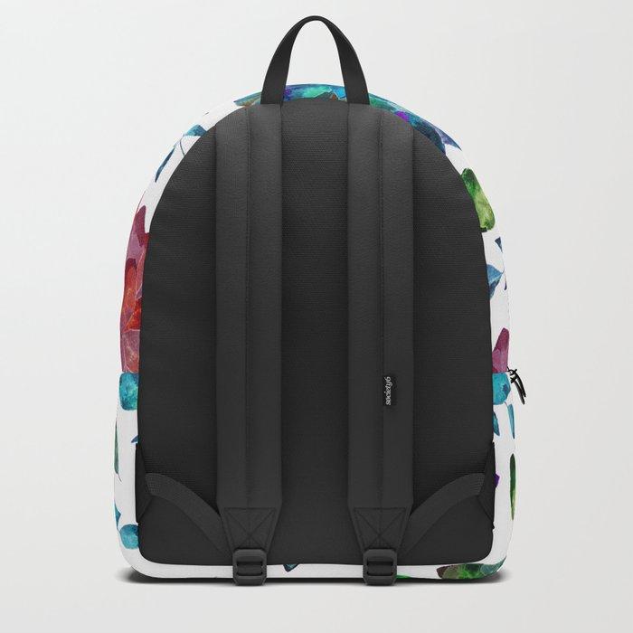 Vibrant Floral Garden Backpack