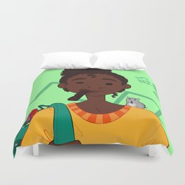 Super NOM Duvet Cover