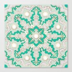 Mint Mandala Canvas Print