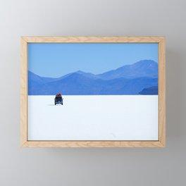 Salar de Uyuni 1 Framed Mini Art Print