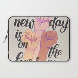 A new day is on the horizon Laptop Sleeve