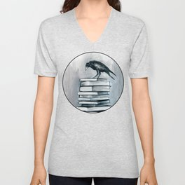 I Don't Read As Much As I'd Love To Anymore Unisex V-Neck