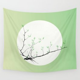 Grass Sprouts, Trees Bud Wall Tapestry
