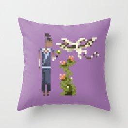 Sokka & Momo Throw Pillow