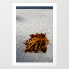 crisp morning Art Print