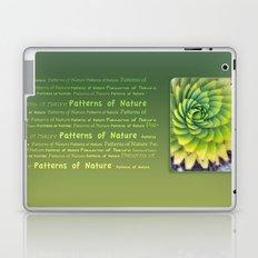 Patterns of Nature - succulent I Laptop & iPad Skin