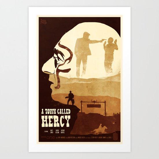 A Town Called Mercy Art Print