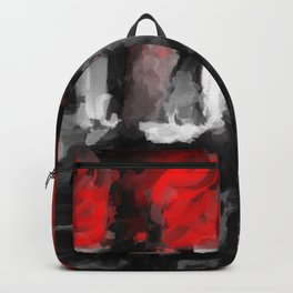 Lipsticks Painting Style Backpack