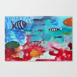 Litmus Canvas Print