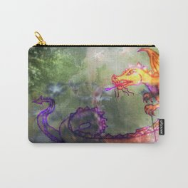 Garden of the Hesperides, digital art with fierce dragon Carry-All Pouch