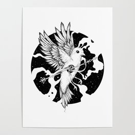Spilled Existence Poster