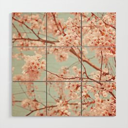 blossoms all over Wood Wall Art