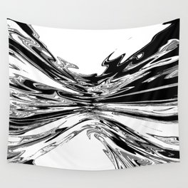 shades of gray squeeze Wall Tapestry