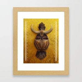 Spirit of the Wildebeest Framed Art Print