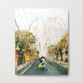 Bali scootin' Metal Print