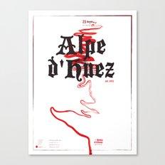 Famous Climbs: Alpe d'Huez 2, Old World Canvas Print