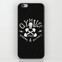 gym iPhone & iPod Skins featuring Gym Life  by Textures