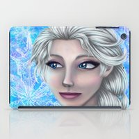 frozen elsa iPad Cases featuring Elsa by Kimberly Castello