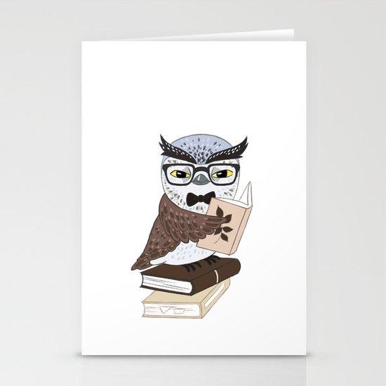 Professor Owl Stationery Cards