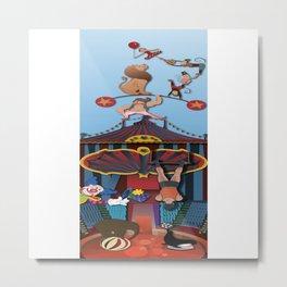 A Circus Story Metal Print