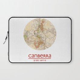 CANBERRA AUSTRALIA - city poster - city map poster print Laptop Sleeve