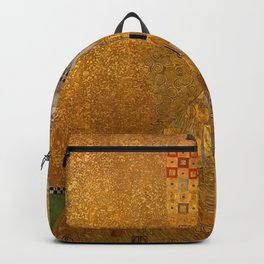The Woman In Gold Bloch-Bauer I by Gustav Klimt Backpack