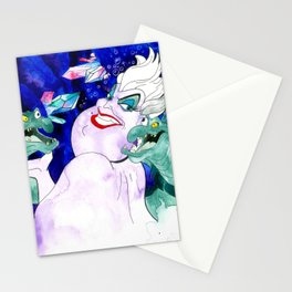 Sea Witch Stationery Cards