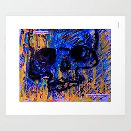 Drops of Consciousness Art Print