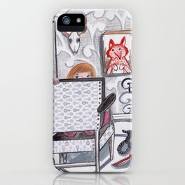 Never a Dull Moment iPhone Case