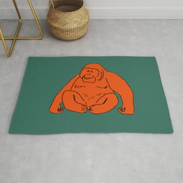 The Marvellous Orangutan Rug