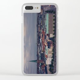 Copenhagen Skyline Clear iPhone Case