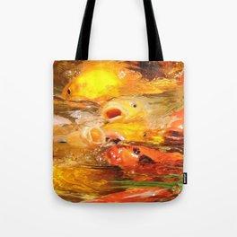 TEXTURES: Koi Swarm Tote Bag