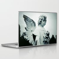 outdoor Laptop & iPad Skins featuring Outdoor angel by Vorona Photography