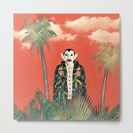 Dracula in the jungle Metal Print
