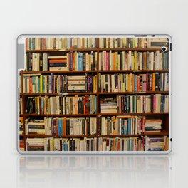 Bookshelf Books Library Bookworm Reading Laptop & iPad Skin