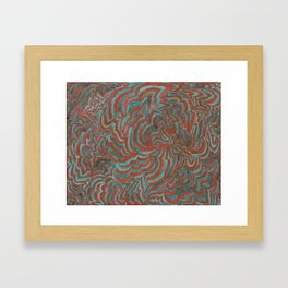 The Space In Between N-O-A and the Trace Gases Framed Art Print