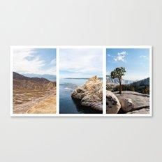 Nature Triptik Canvas Print
