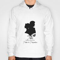 pride and prejudice Hoodies featuring Pride and Prejudice by Clarc