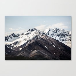 Alaska Mountain Range Canvas Print