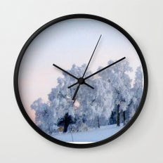 A cold day in Paradise Wall Clock
