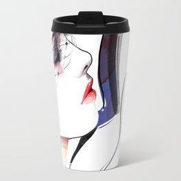 Vogue Fashion Illustration #12 Travel Mug