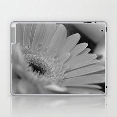 Gerbera Daisy B&W Laptop & iPad Skin