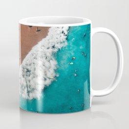 Surfers Surfing Bondi Beach Coffee Mug